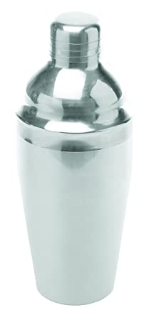 Stainless Steel Countour Cocktail Shaker – 18 Oz