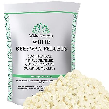 32 oz YIHANG White Beeswax Pellets 2 lb-