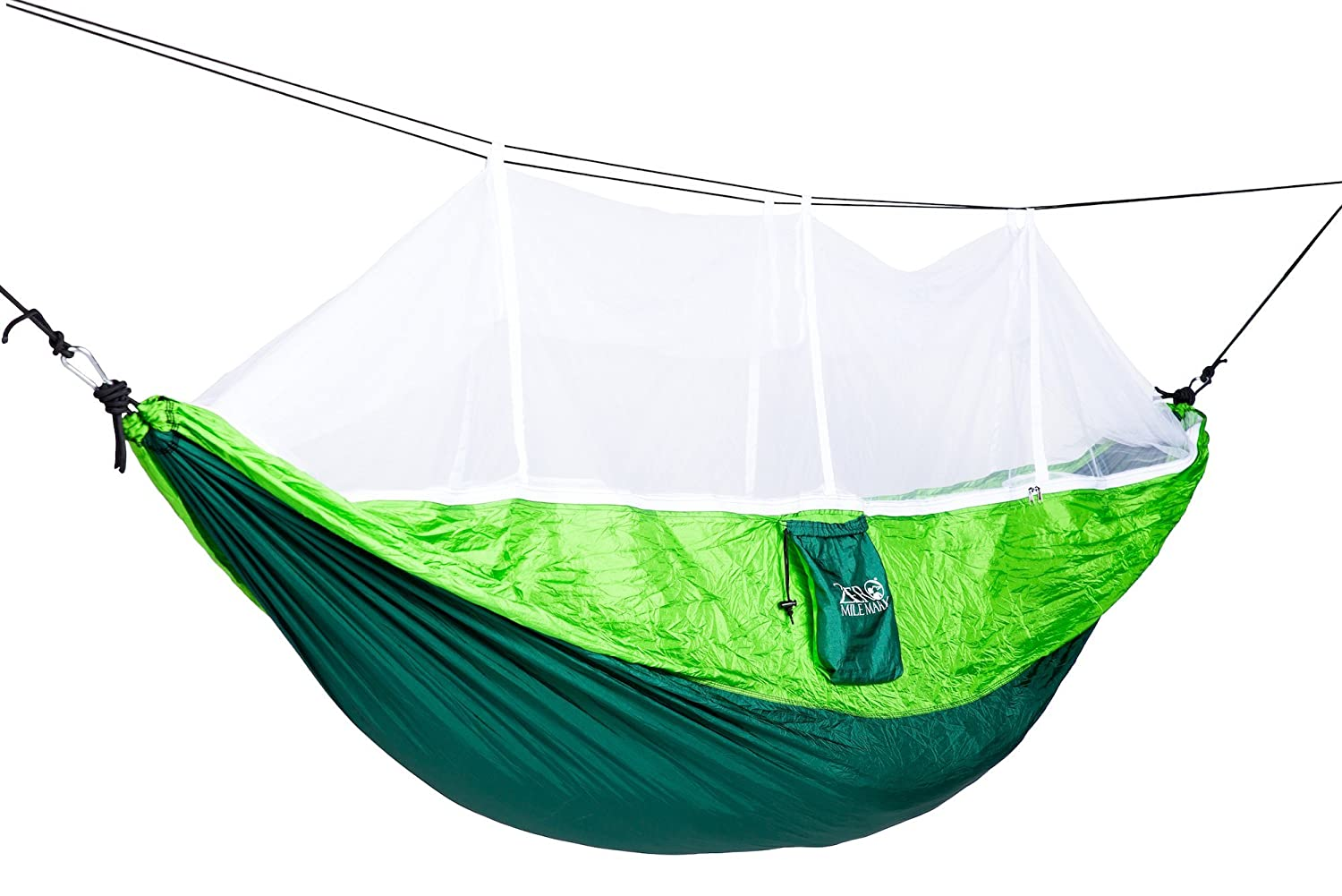 Strong Mesh Net Nylon Rope Outdoor Travel Camping Hammock Hanging Sleeping Bed Relax After A Hard Day. Camp Sleeping Gear