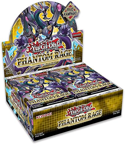 yugioh phantom rage booster packs