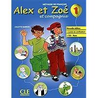 Alex et Zoe et compagnie: Livre de l'eleve + livret de civilisation + CD-R