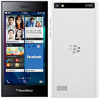 Blackberry Leap (White) Smartphones at amazon