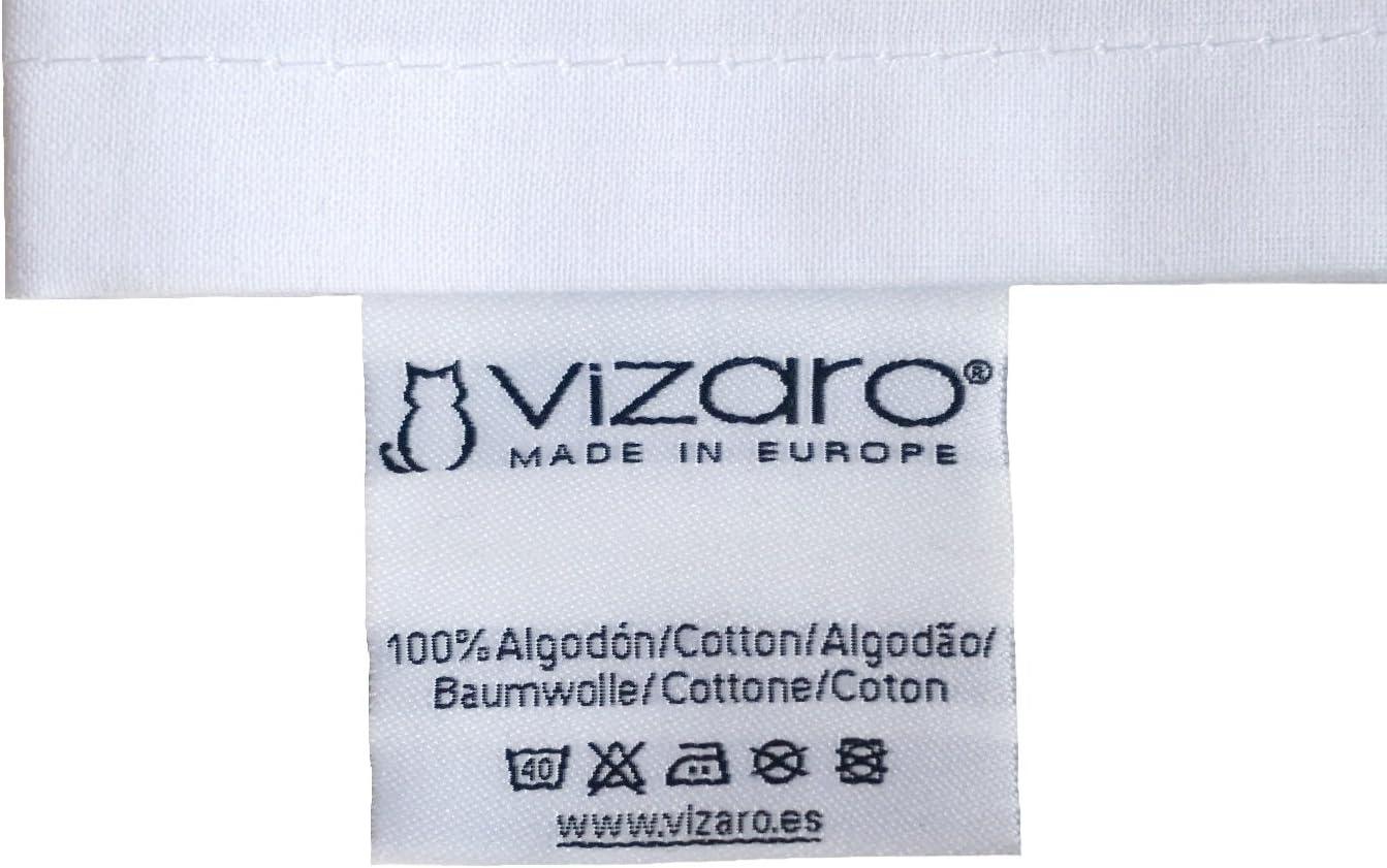 Vizaro C Taie 100/% COTON Amovible et Lavable Fabriqu/é UE pas de substances nocives Fermeture /Éclair TOUR DE LIT B/ÉB/É EXTRA-LARGE 60x120cm Petites Maisons De Plages