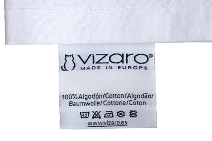 Vizaro - SACO de DORMIR Recién Nacido (0-4 meses) 100g - 3,5Tog - INVIERNO, ENTRETIEMPO - 100% ALGODÓN PURO - Hecho en UE sin sustancias nocivas - C. ...