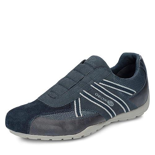 Geox RAVEX U923FC Hombre Zapatillas,Slip On,varón Zapatos Deportivos, Zapatillas,Slip on,elástico,Transpirable: Amazon.es: Zapatos y complementos