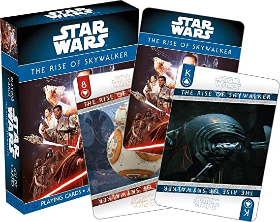 Amazon Com Star Wars Playing Cards Episode 9 The Rise Of Skywalker Deck Of Cards For Your Favorite Card Games Officially Licensed Star Wars Merchandise And Collectibles Poker Size