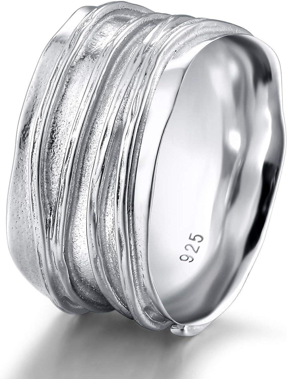 Wedding Band Plain Anneau Argent Sterling 925 Best Bijoux Cadeau largeur 10 mm Taille 10