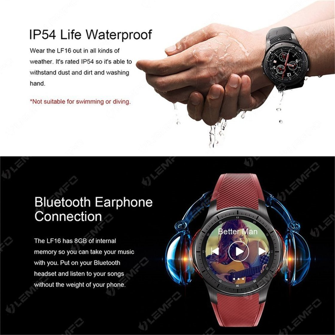 Amazon.com: LEMFO LF16 Smart Watch 1.39 Inch Screen ...