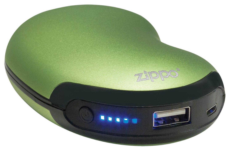 color verde Zippo 2005835/Heat Banco 6/bater/ía recargable calentador de manos y Power Bank