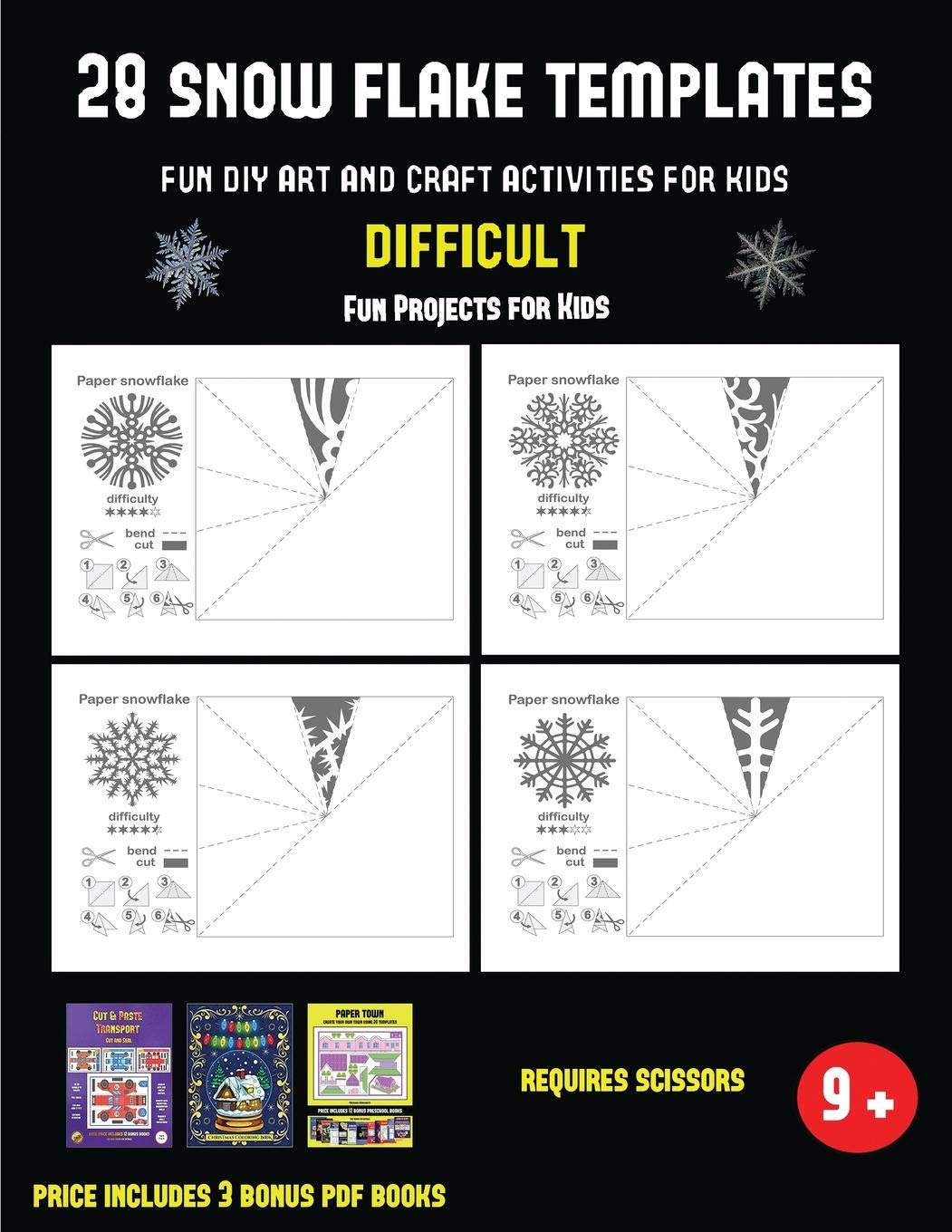 Buy Fun Projects for Kids (28 snowflake templates Fun DIY