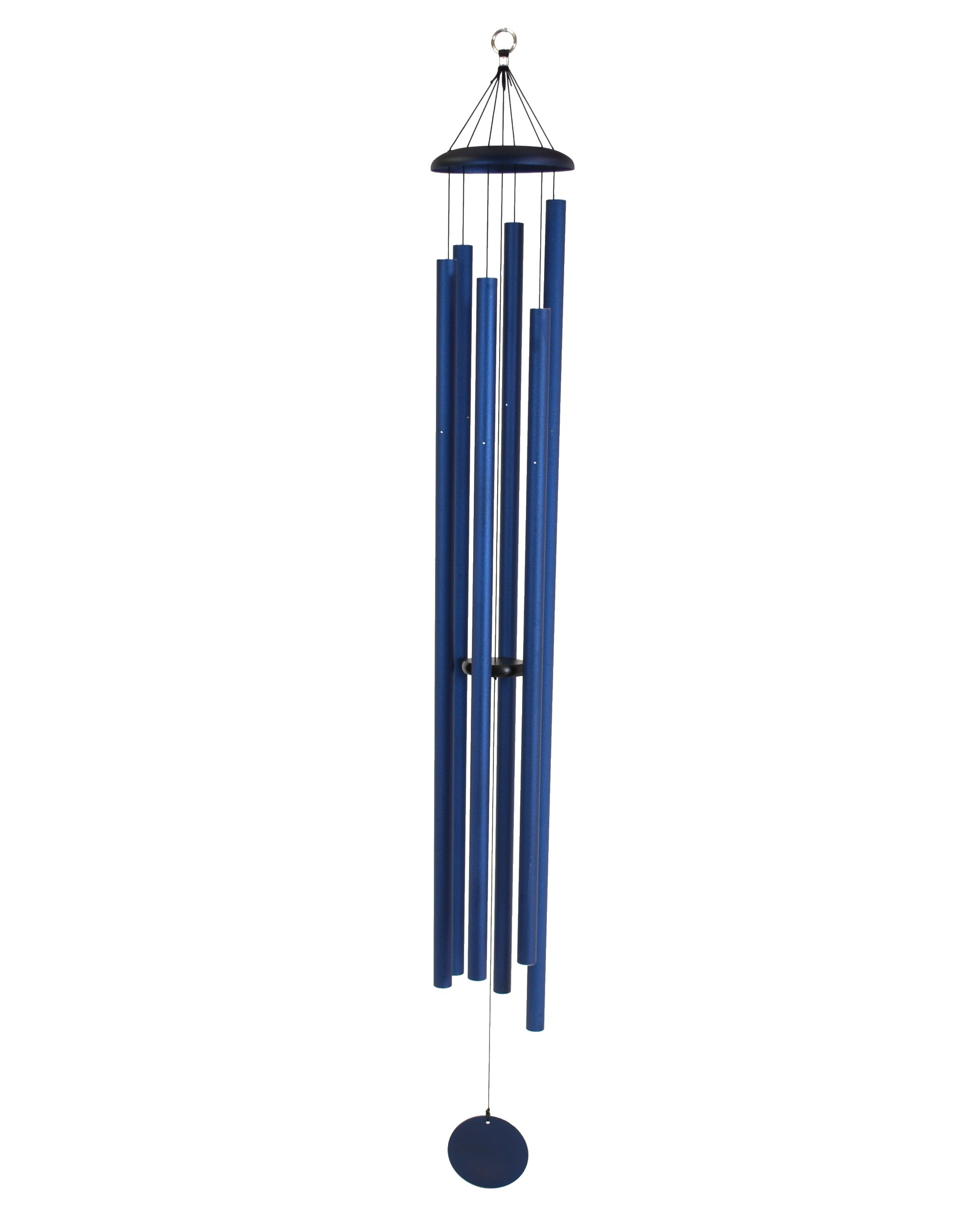 Corinthian Bells 74-inch Windchime, Midnight Blue