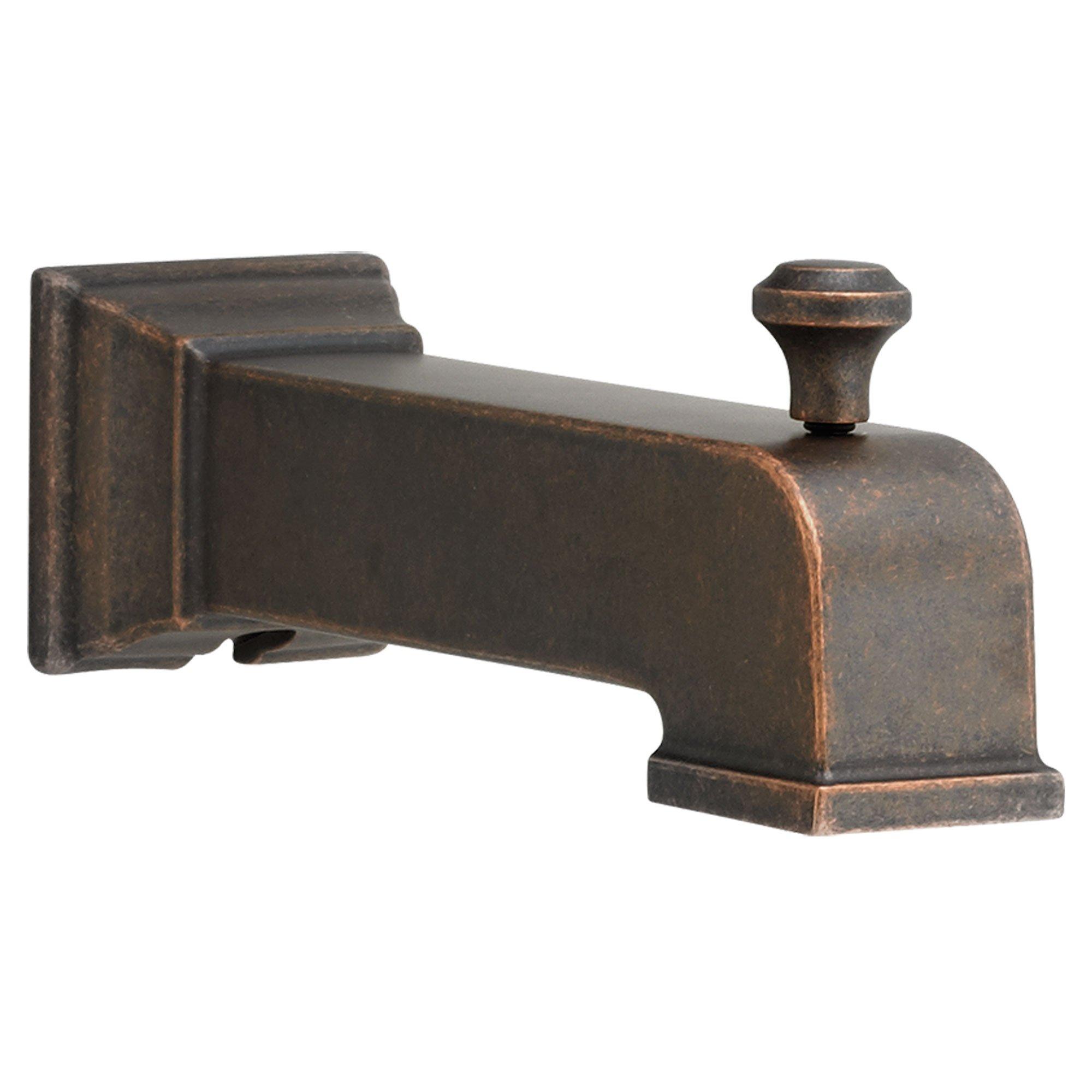 American Standard 8888.088.224 Town Square Slip-On Diverter Tub Spout, Oil Rubbed Bronze