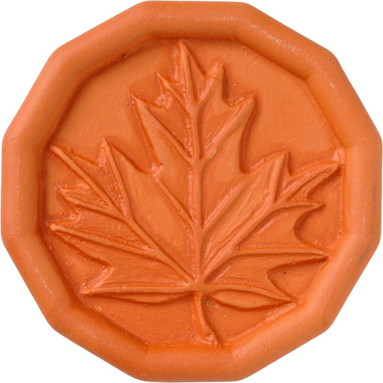 JBK Maple Leaf Terra Cotta Brown Sugar Saver