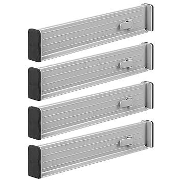 mDesign 4er-Set Schubladen-Organizer – dank verstellbarer ...