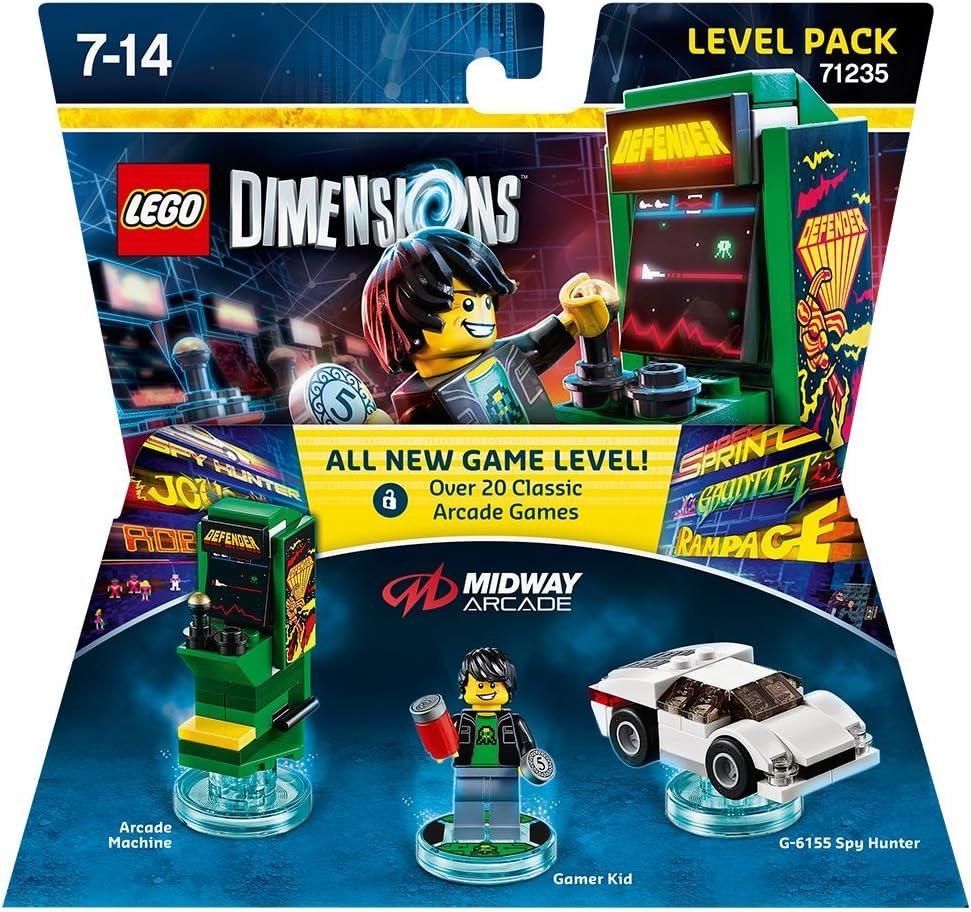 Warner Bros Interactive Spain Lego Dimensions - Midway, Gamer Kid: Amazon.es: Videojuegos