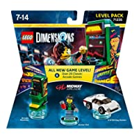 LEGO Dimensions, Midway Retro Gamer, Level Pack