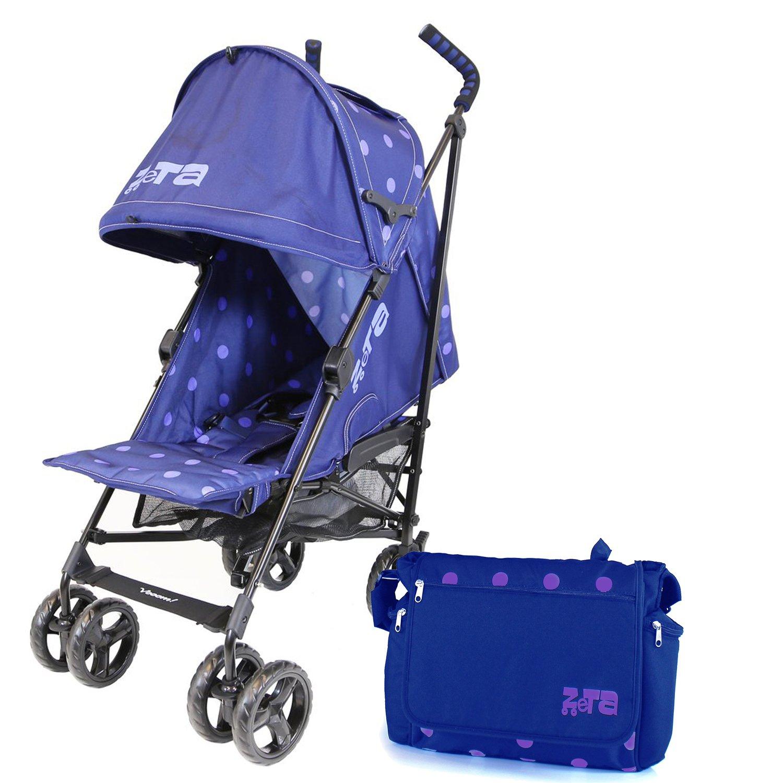 New Range Baby Pushchair Stroller Zeta Vooom Pink