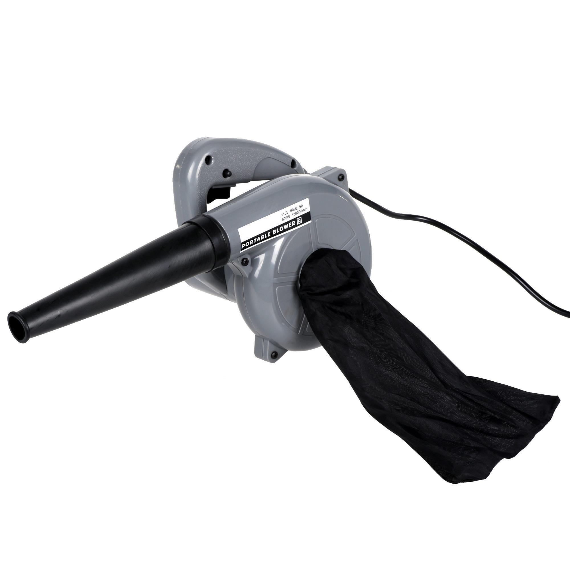 neudas Small Leaf Blower 500W Garden Vacuum, Gray