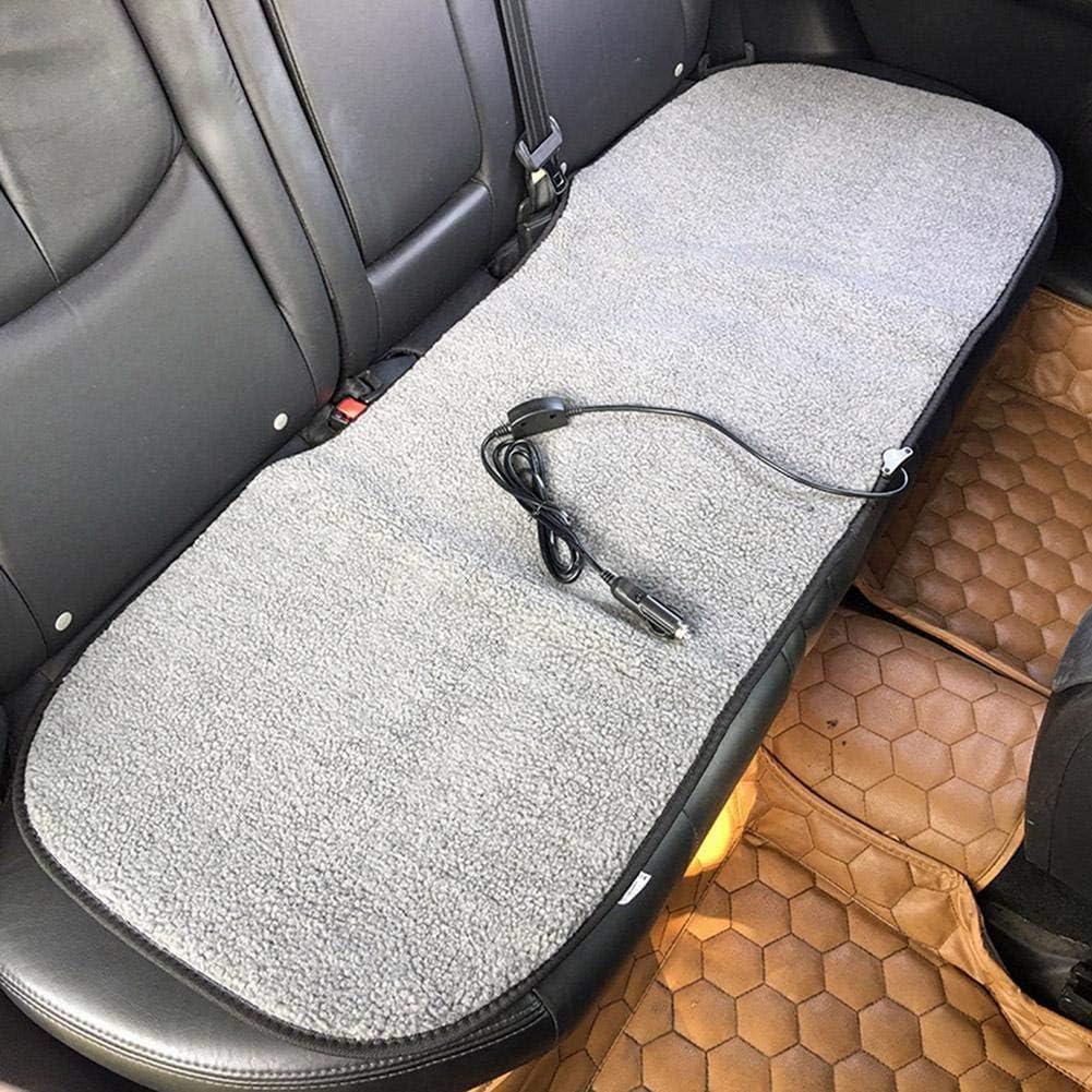 Wohnmobil PKW Sitzheizung F/ür Auto Autositz 12V Beheizte Sitzauflage Beheizter Sitzbezug LKW luckything Beheizbare Kissen