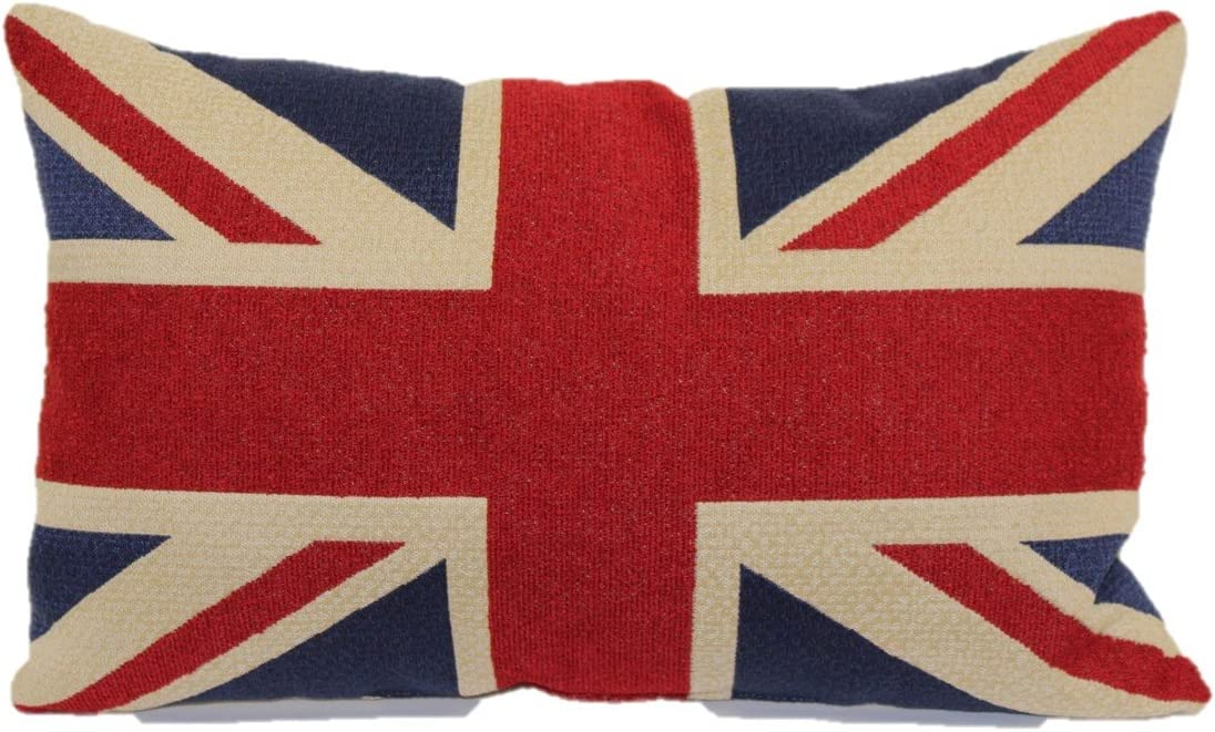 Brentwood Originals Tapestry Toss Pillow, Union Jack