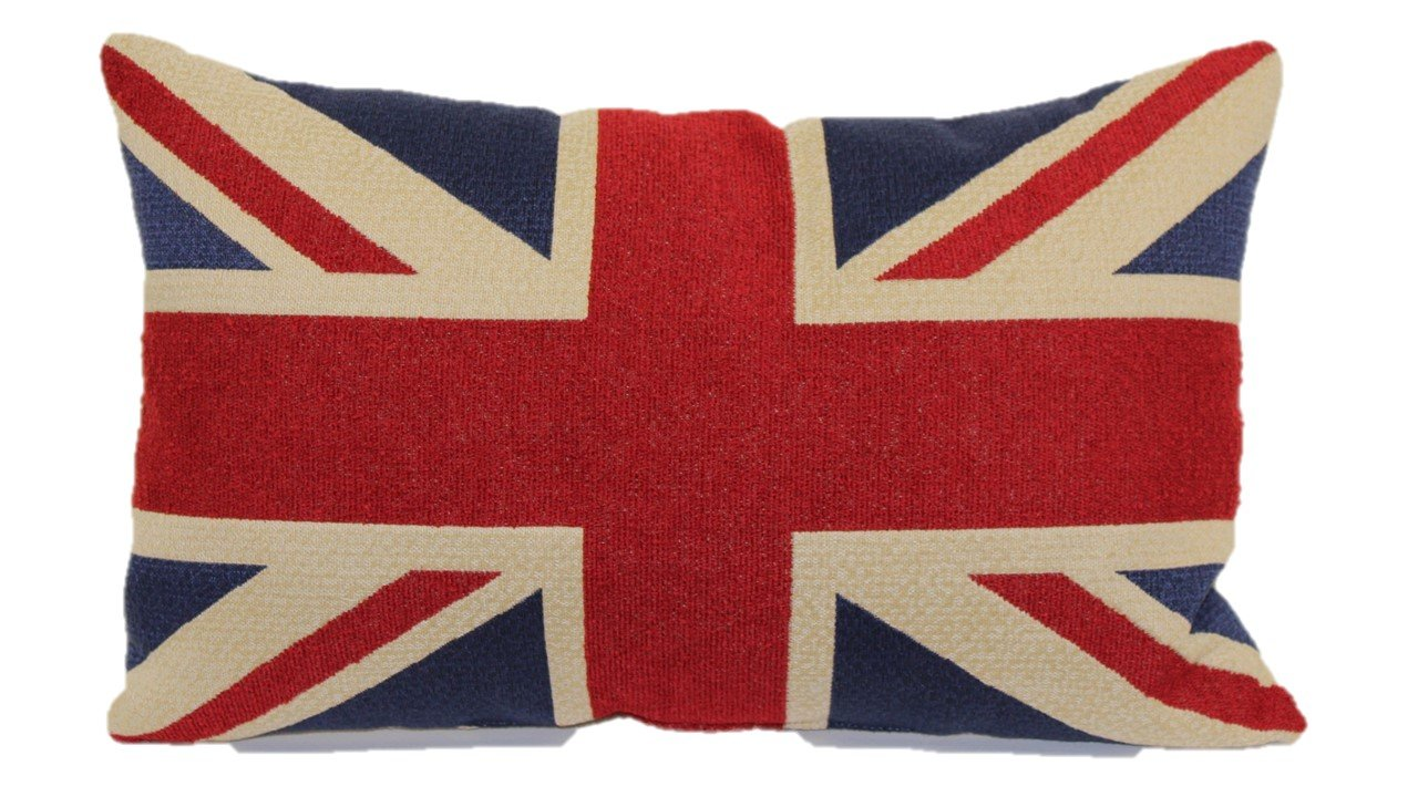 Brentwood Originals 8377 Union Jack Tapestry Toss Pillow, 13-Inch by Brentwood Originals