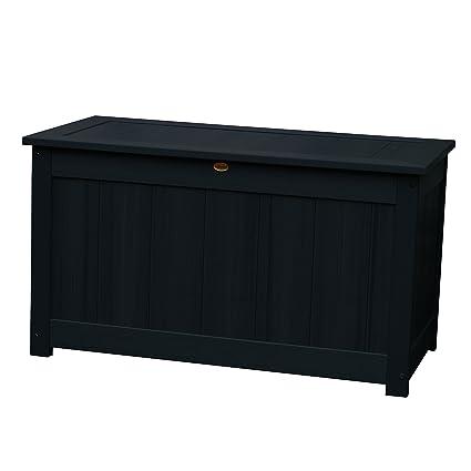Ordinaire Highwood Deck Storage Box, Large, Black