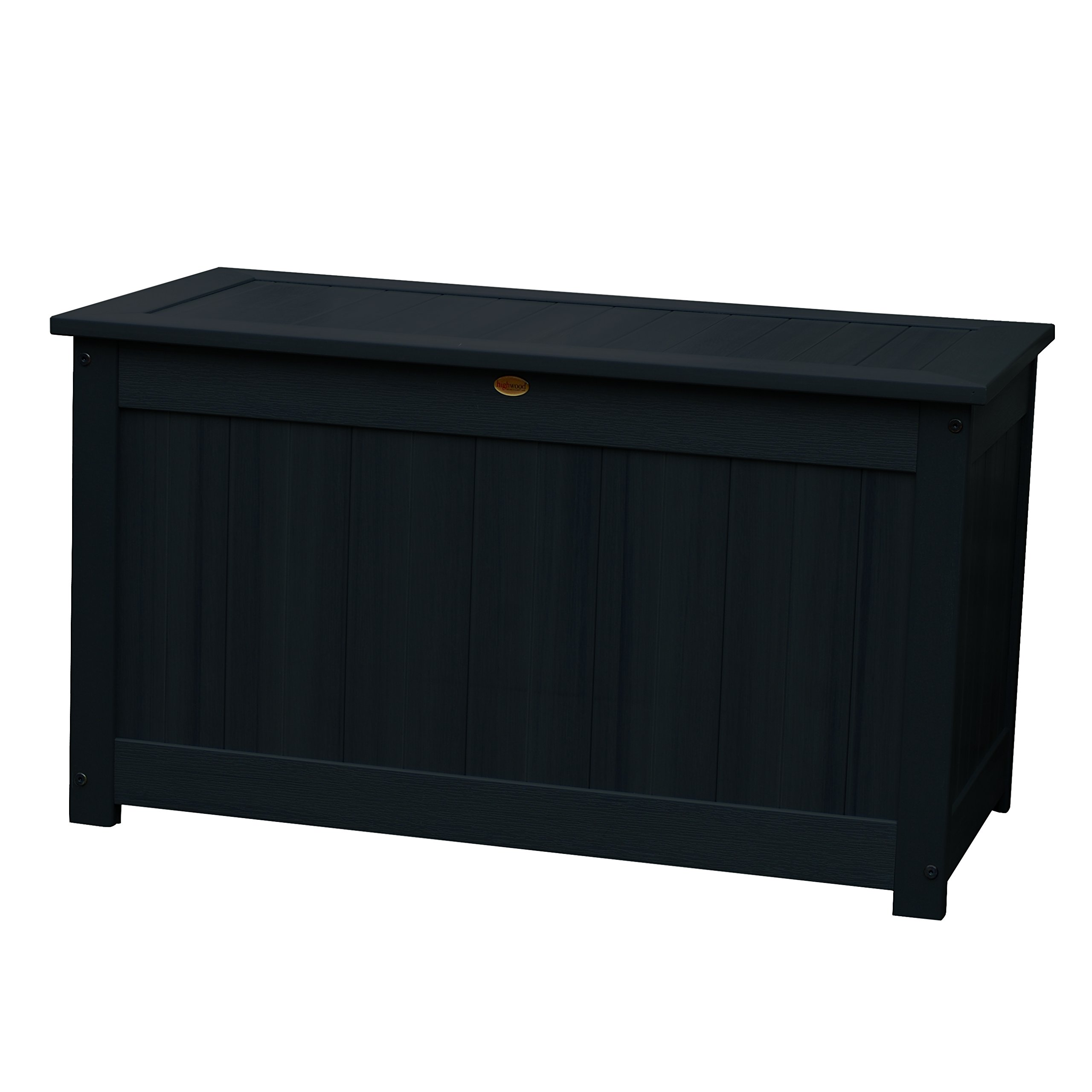 Highwood Deck Storage Box, Large, Black