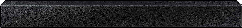 Barra de Sonido Samsung HW-T400 - Sonido 2.0Ch, Subwoofer Integrado, Dolby Digital, Modo Juego, Bluetooth 4.2 y One Remote Control