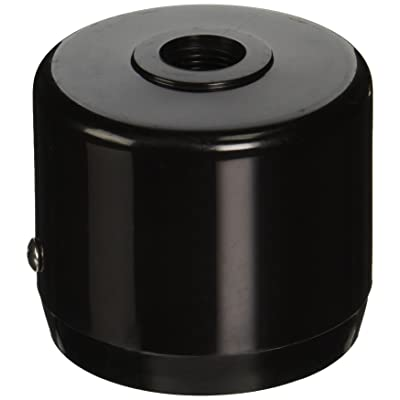"RAB Lighting MCAP3B Mighty Post Cap for 3"" Pipe, 2-7/8"" OD, Black: Outdoor Post Light Accessories: Industrial & Scientific"