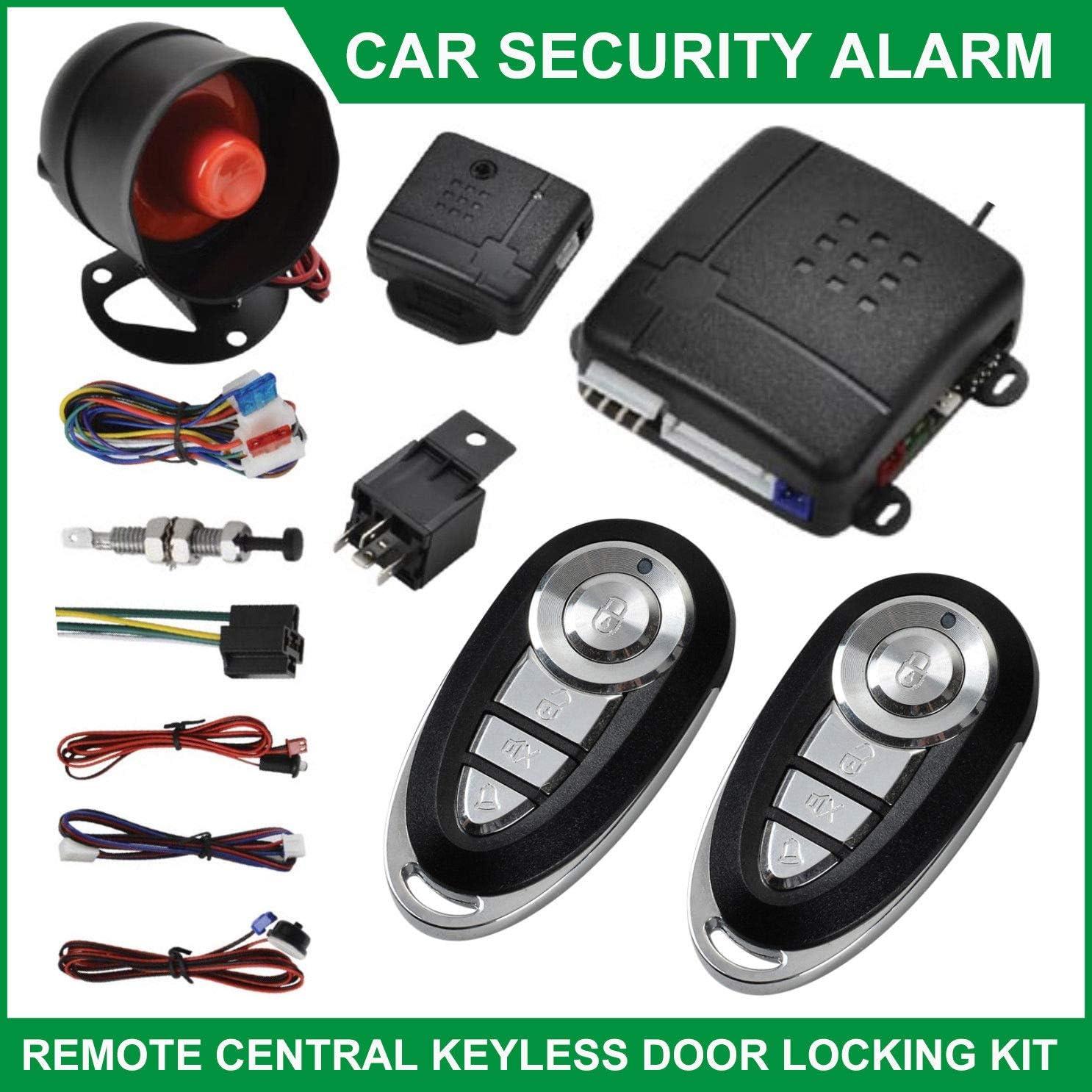 C0E1 2 Doors Anti-Theft Locking Alarm System Two-Door Central Locking Car