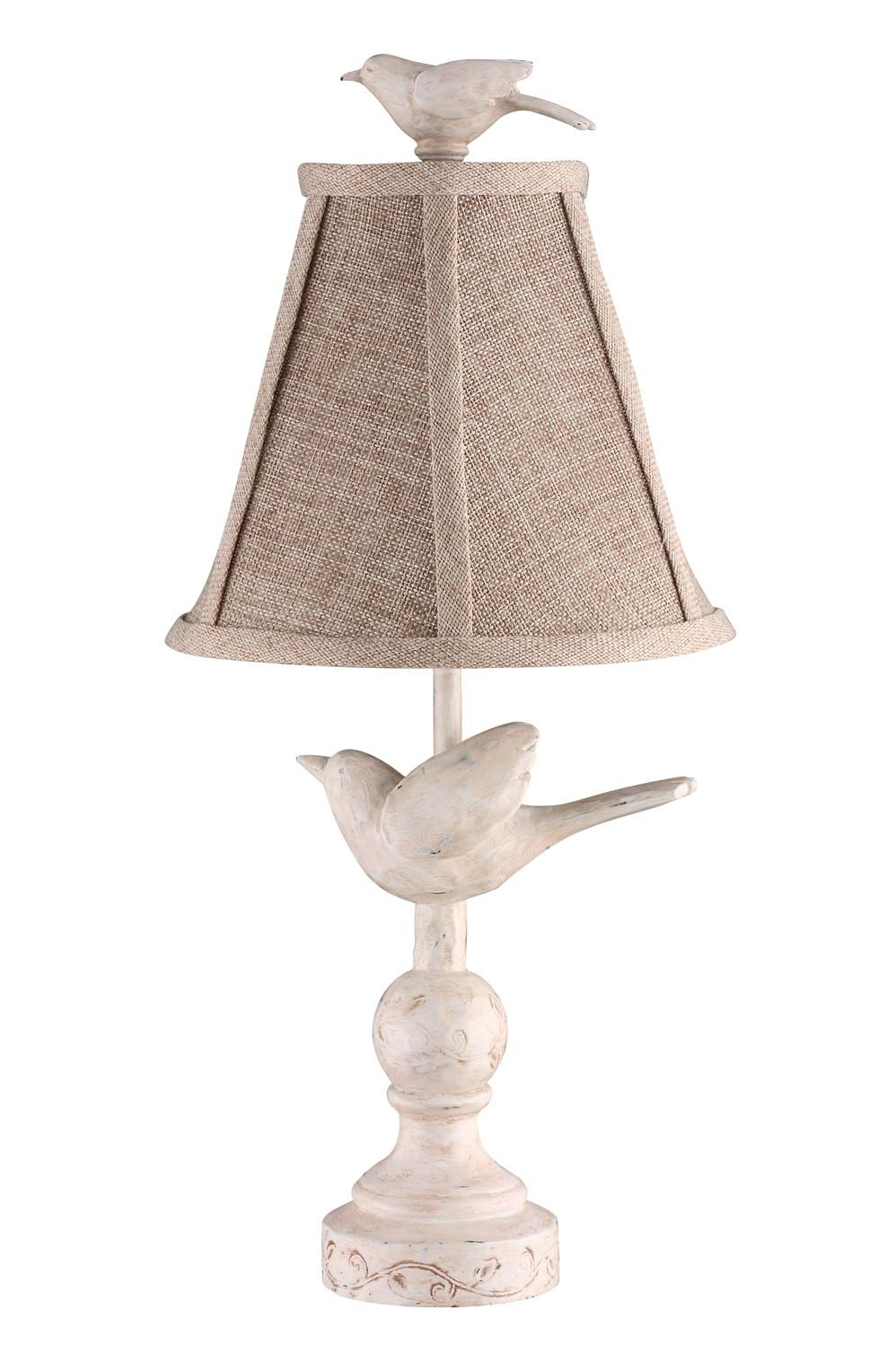 hand finish inch wildwood cfm high pom lighting shown painted item bird and silk n table porcelain lamp in shade capitol lamps