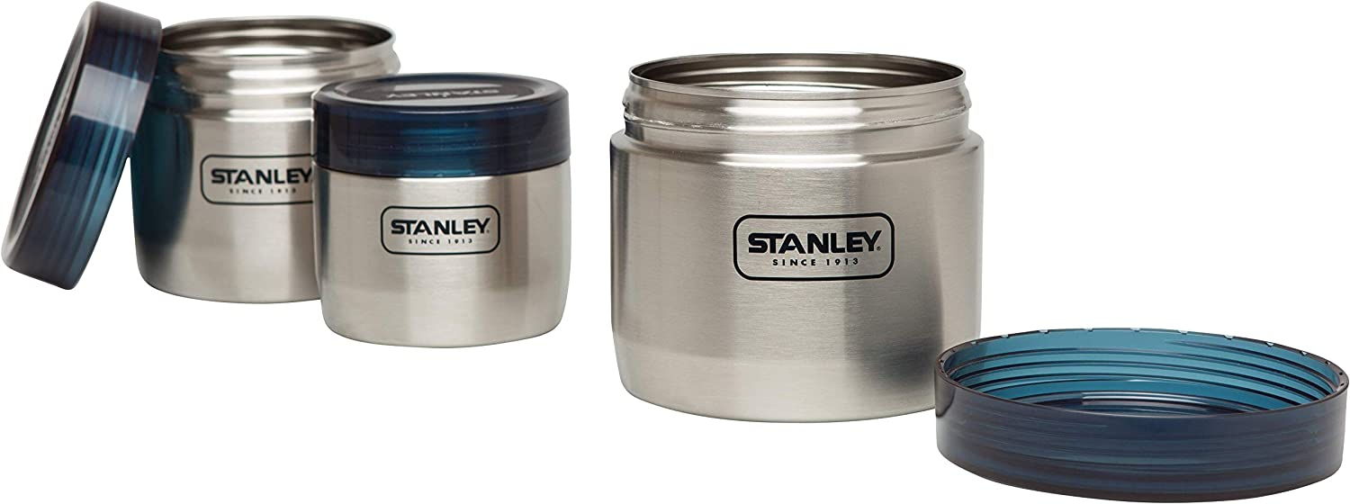 Stanley Adventure Food Canisters, Stainless Steel 12 x 12 x 10.8 cm