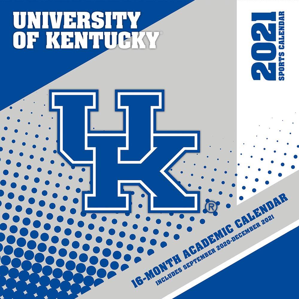 Uky Academic Calendar Fall 2021 Kentucky Wildcats 2021 12x12 Team Wall Calendar: 9781469377865