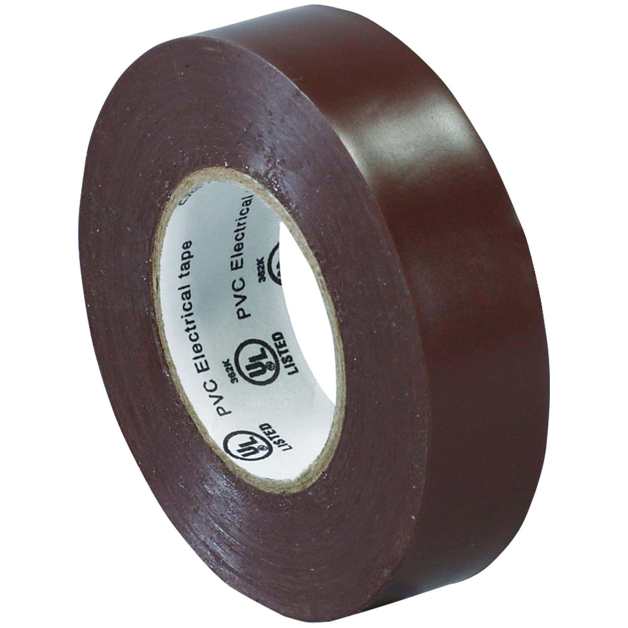 BOX BT96461810PKN Brown Electrical Tape, 20 yd. Length, 3/4'' (Pack of 10)