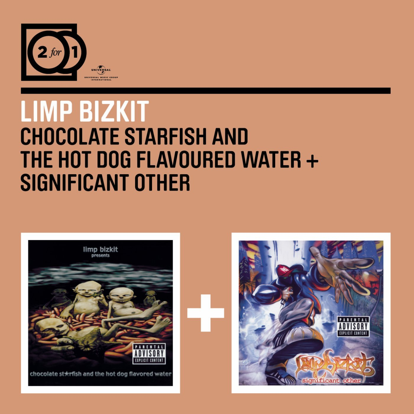 LIMP BIZKIT - Chocolate Starfish / Significant Other - Amazon.com ...