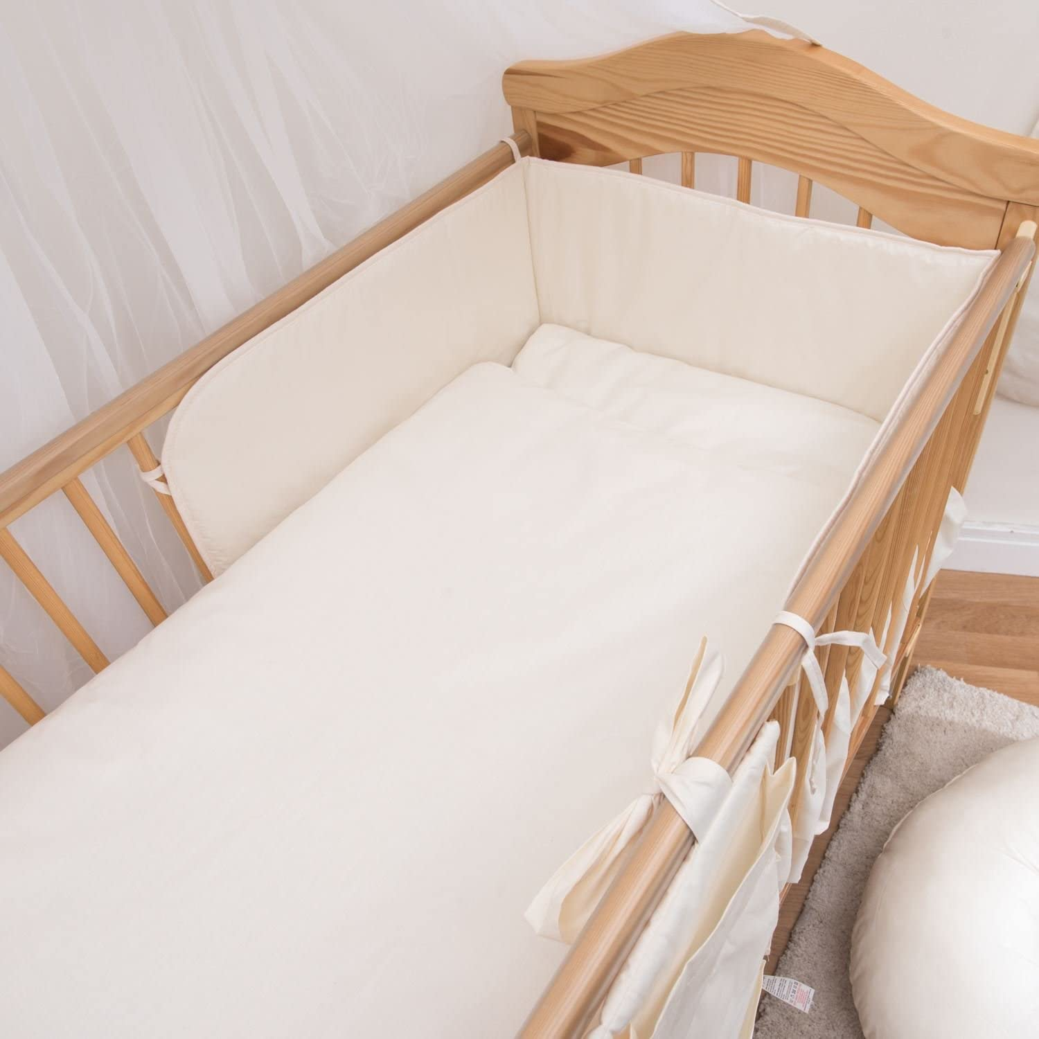 5 Piece Baby Children Bedding Set to Fit 120x60 or 140x70 cm Toddler Cot Bed to fit 140 x 70 cm Cot Bed, 20