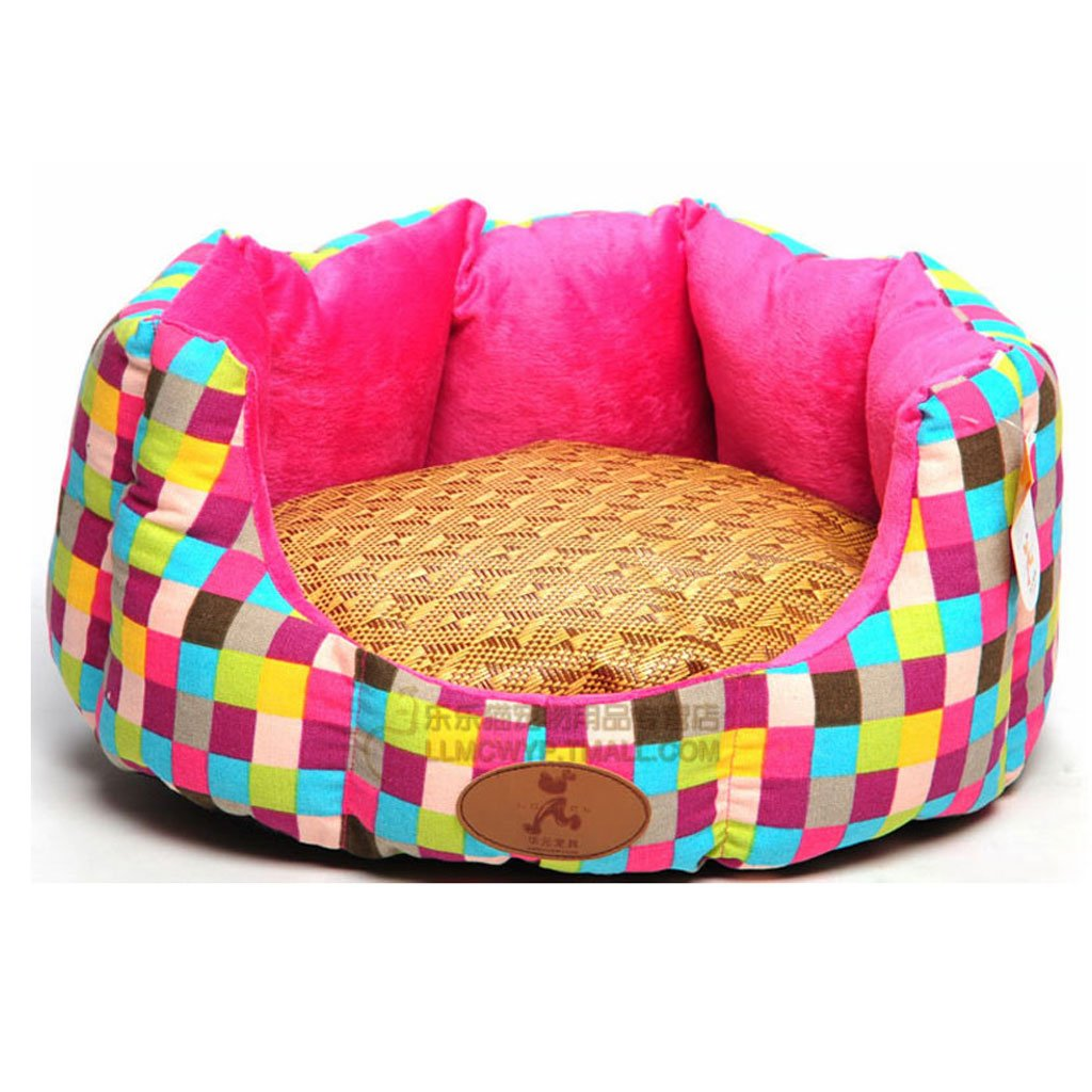 M 575220CM CS Pet Nest Cat And Bed Pet Supplies Can Be Removed To Clean The Cat's Nest (Size   M 57  52  20CM)