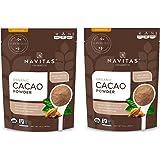Navitas Organics Cacao Powder, 8 oz. Bag — Organic, Non-GMO, Fair Trade, Gluten-Free (Pack of 2)