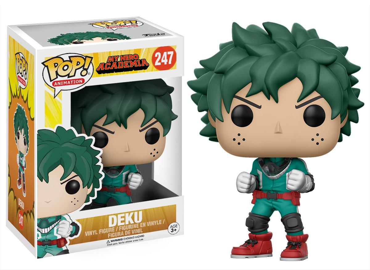 cc40241c43b Amazon.com  Funko POP Anime My Hero Academia Deku Action Figure  Funko Pop!  Animation   Toys   Games