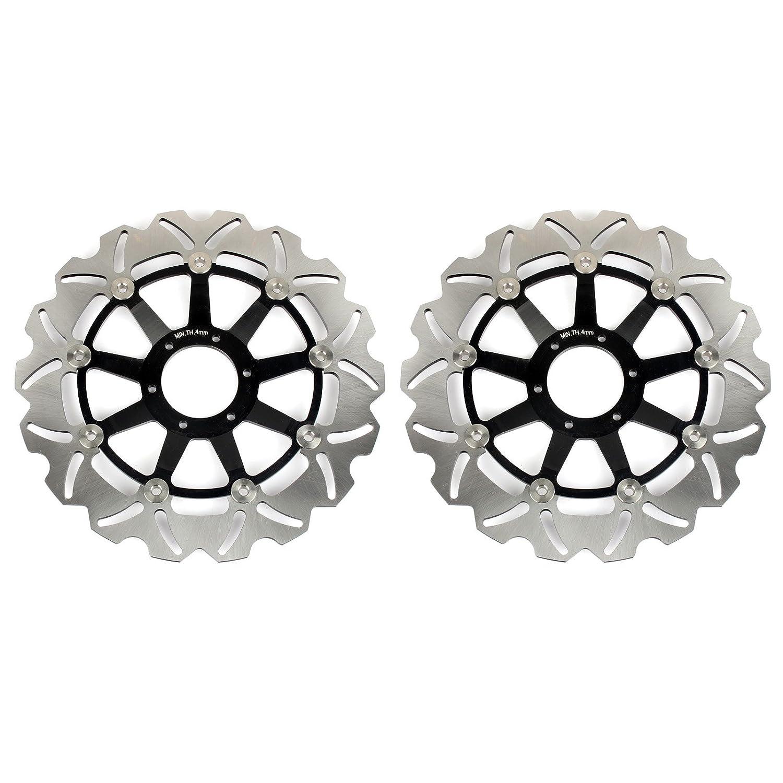 TARAZON Rotores de discos de freno delanteros para GL 1500 Valkyrie 97-03 GL 1800 Gold Wing 2001-2015 XL1000V