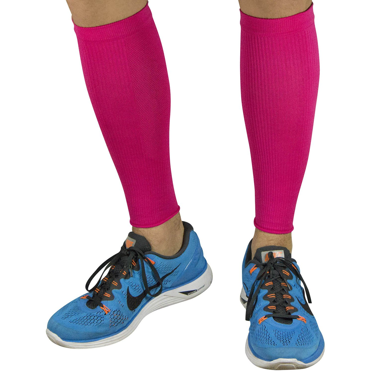 Calf Sleeves - #1 Compression Leg Sleeve for Runners - Men and Women Shin Sleeves
