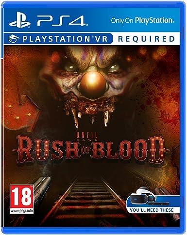 Until Dawn: Rush Of Blood VR: Amazon.es: Videojuegos