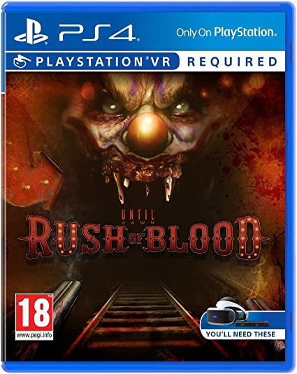 Until Dawn: Rush Of Blood VR: Amazon.es: Videojuegos