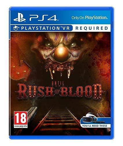 Until Dawn Rush Of Blood Vr Amazon Es Videojuegos
