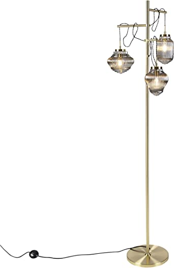 QAZQA Art Deco LampadaireLampe de solLampe sur Pied
