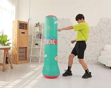 Sinrextraonry - Saco de Boxeo Hinchable (160 cm, Incluye ...