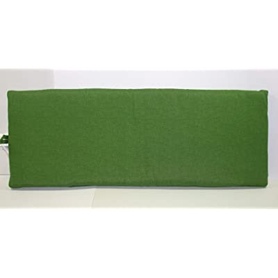 (1) Outdoor Patio Bench Settee Cushion ~ Malachite Green ~ 17 x 46 x 3 New Shipping Included : Garden & Outdoor