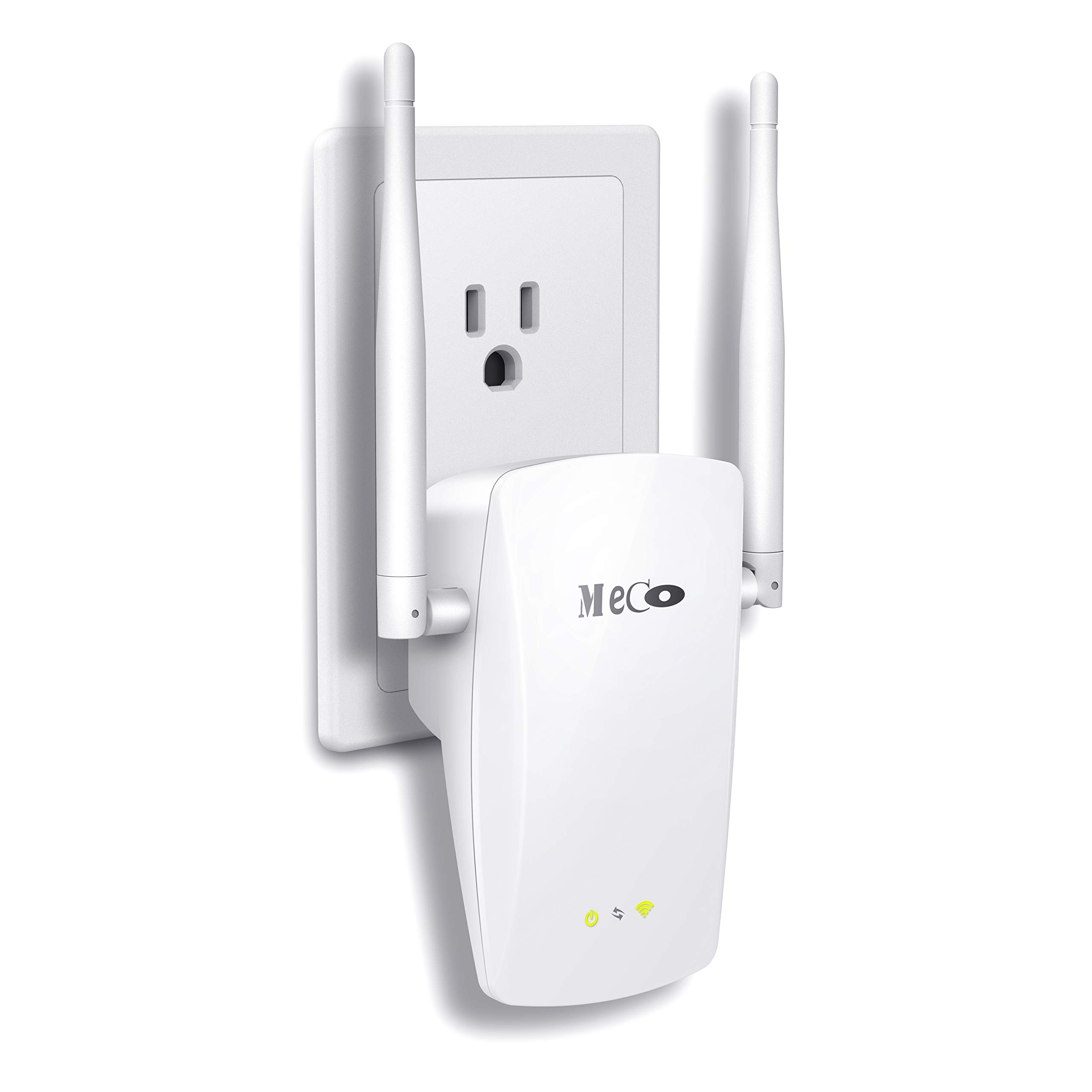 WiFi Range Extender, MECO 300Mbps WiFi Repeater Wireless Signal Booster Amplifier Supports Router Mode/Repeater/Access Point, Easily Setup and Seamless Roaming