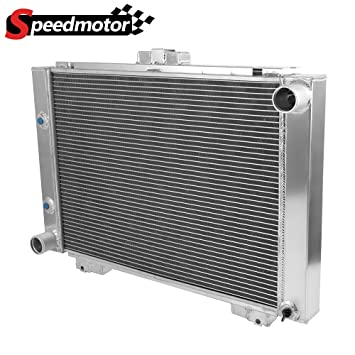 All Aluminum Performance Racing Radiator Replacement For 1964 Ford Galaxie  390FE / Galaxie 500/500XL L6 V8