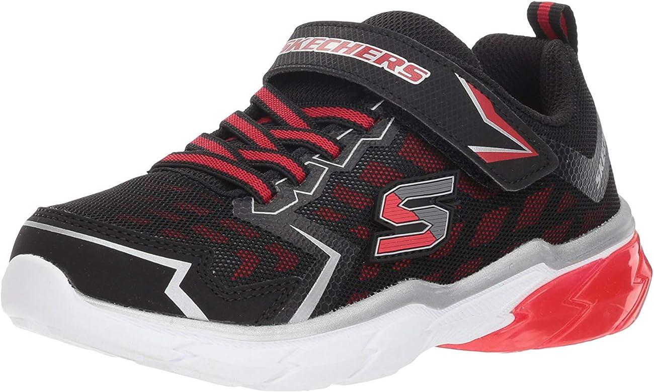 Zapatillas para niño, Color Negro, Marca SKECHERS, Modelo Zapatillas para Niño SKECHERS THERMOFLUX Nano Grid Negro: Amazon.es: Zapatos y complementos